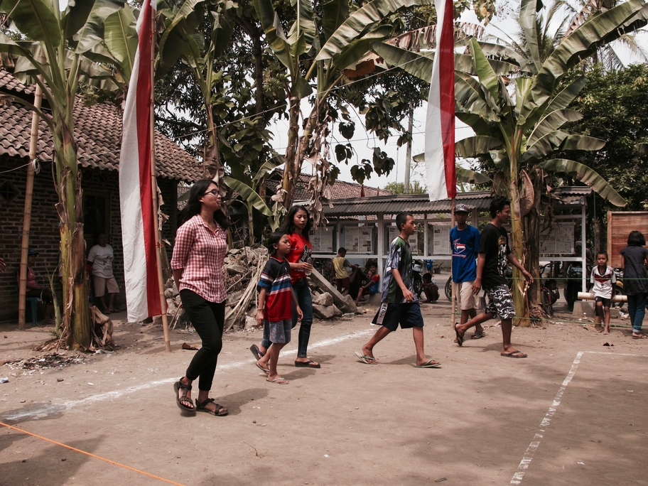 Last year, I spent Indonesia's Independence Day in community service for 2 whole months with my friends. Being a part of the community, and completely hands-on in the festivities with the locals was truly unforgettable. And yes, the girl in the checkered shirt is me!